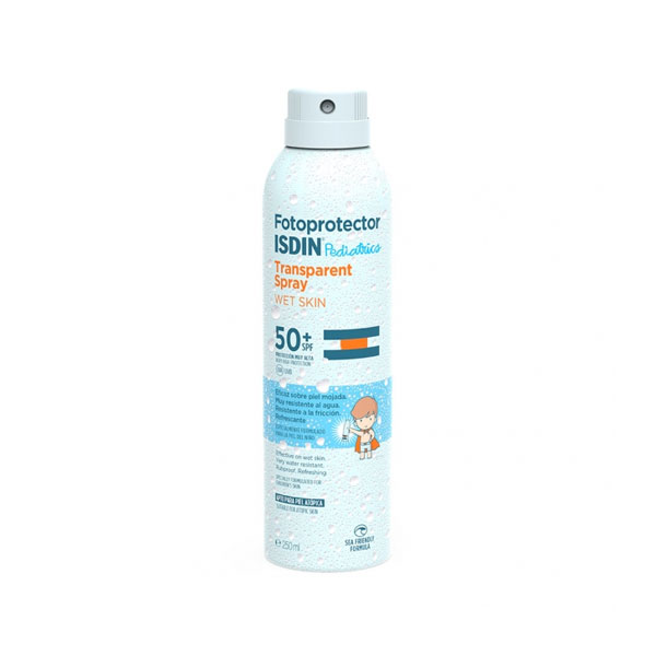 Fotoprotector Isdin Pediatrics Transparent Spray Wet Skin 250 ml