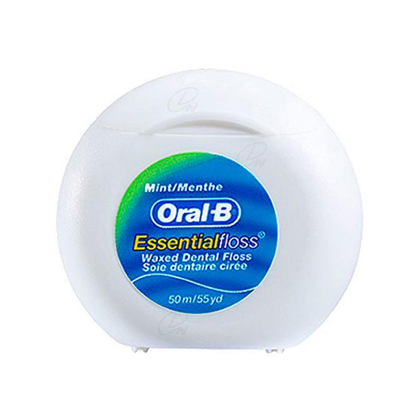 oral-b essential floss menta