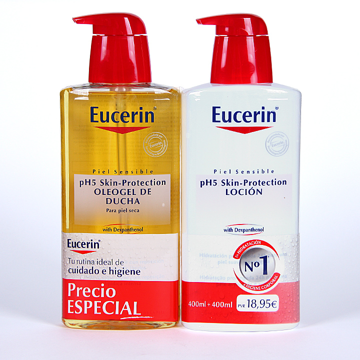 ph5 eucerin pack oleogel 1L + 400 ml gratis