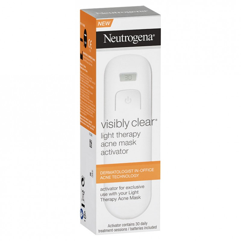 neutrogena activador máscara anti acne visibly clear.