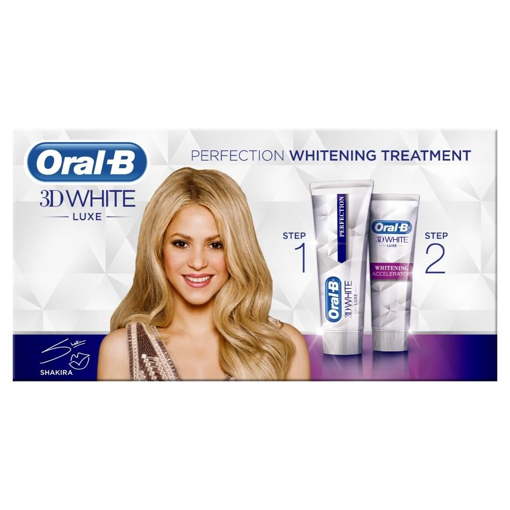 oral b 3d white luxe pack
